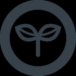 双葉の芽のアイコン素材 3 商用可の無料 フリー のアイコン素材をダウンロードできるサイト Icon Rainbow