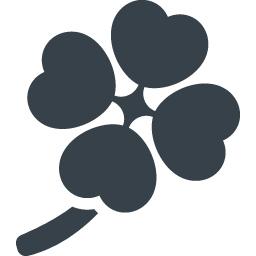 四葉のクローバーのアイコン素材 1 商用可の無料 フリー のアイコン素材をダウンロードできるサイト Icon Rainbow