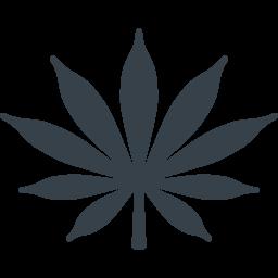 マリファナの葉のアイコン素材 1 商用可の無料 フリー のアイコン素材をダウンロードできるサイト Icon Rainbow