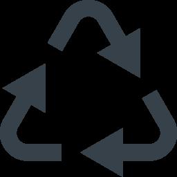 リサイクルマーク 三角系の矢印アイコン素材 1 商用可の無料 フリー のアイコン素材をダウンロードできるサイト Icon Rainbow