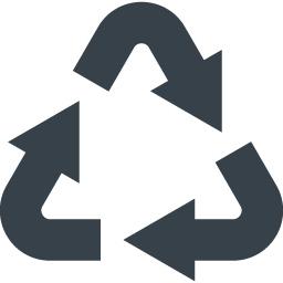 リサイクルマーク 三角系の矢印アイコン素材 2 商用可の無料 フリー のアイコン素材をダウンロードできるサイト Icon Rainbow