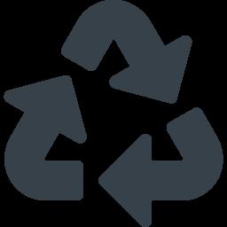 リサイクルマーク 三角系の矢印アイコン素材 4 商用可の無料 フリー のアイコン素材をダウンロードできるサイト Icon Rainbow