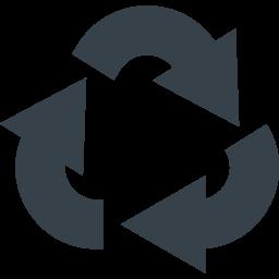 リサイクルマーク 三角系の矢印アイコン素材 6 商用可の無料 フリー のアイコン素材をダウンロードできるサイト Icon Rainbow
