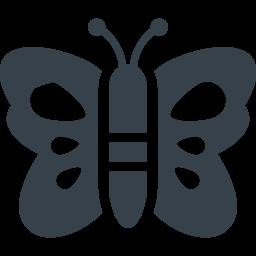 蝶々のアイコン素材 5 商用可の無料 フリー のアイコン素材をダウンロードできるサイト Icon Rainbow