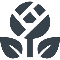 バラの花のアイコン素材 1 商用可の無料 フリー のアイコン素材をダウンロードできるサイト Icon Rainbow