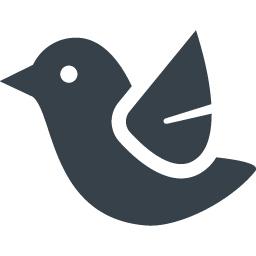 鳥のイラストアイコン素材 1 商用可の無料 フリー のアイコン素材をダウンロードできるサイト Icon Rainbow
