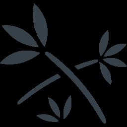 笹っぽい枝のアイコン素材 商用可の無料 フリー のアイコン素材をダウンロードできるサイト Icon Rainbow