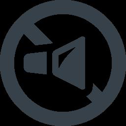 音のミュートのアイコン素材 商用可の無料 フリー のアイコン素材をダウンロードできるサイト Icon Rainbow