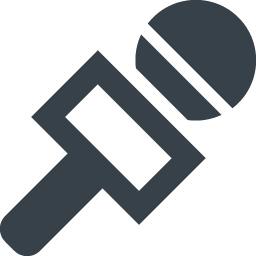 街頭インタビュー風マイクのアイコン素材 商用可の無料 フリー のアイコン素材をダウンロードできるサイト Icon Rainbow