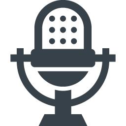 無料でダウンロードできる音声入力マークのアイコン素材 7 商用可の無料 フリー のアイコン素材をダウンロードできるサイト Icon Rainbow