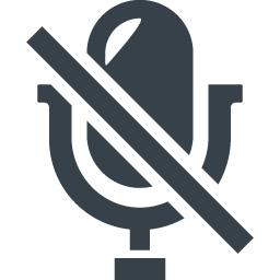 音声入力 録音禁止のアイコン素材 商用可の無料 フリー のアイコン素材をダウンロードできるサイト Icon Rainbow