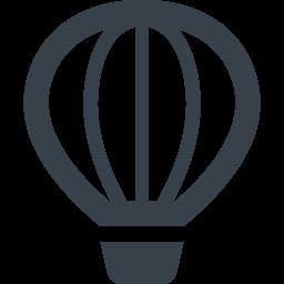 気球のアイコン素材 商用可の無料 フリー のアイコン素材をダウンロードできるサイト Icon Rainbow