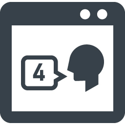 Snsのつぶやき 口コミ分析のアイコン素材 商用可の無料 フリー のアイコン素材をダウンロードできるサイト Icon Rainbow