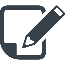 ブログ記事投稿 メモをとるアイコン素材 2 商用可の無料 フリー のアイコン素材をダウンロードできるサイト Icon Rainbow