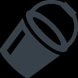 バケツのアイコン素材 9 商用可の無料 フリー のアイコン素材をダウンロードできるサイト Icon Rainbow