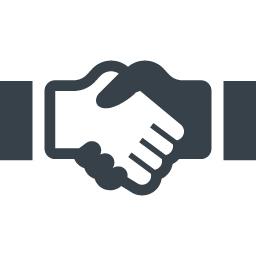 握手のイラストアイコン素材 2 商用可の無料 フリー のアイコン素材をダウンロードできるサイト Icon Rainbow