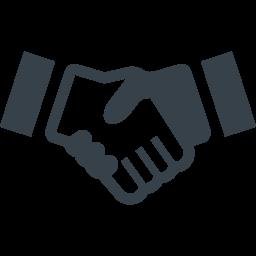 握手のイラストアイコン素材 3 商用可の無料 フリー のアイコン素材をダウンロードできるサイト Icon Rainbow