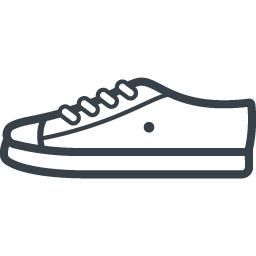 スニーカー シューズのイラストアイコン素材 1 商用可の無料 フリー のアイコン素材をダウンロードできるサイト Icon Rainbow
