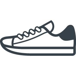スニーカー シューズのアイコン素材 6 商用可の無料 フリー のアイコン素材をダウンロードできるサイト Icon Rainbow
