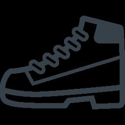 ティンバーランドっぽいブーツのアイコン素材 商用可の無料 フリー のアイコン素材をダウンロードできるサイト Icon Rainbow