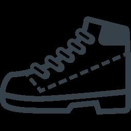 ティンバーランドっぽいブーツのイラストアイコン素材 2 商用可の無料 フリー のアイコン素材をダウンロードできるサイト Icon Rainbow
