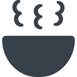 ほっかほかのスープが入ってるボウルのアイコン素材 1 商用可の無料 フリー のアイコン素材をダウンロードできるサイト Icon Rainbow