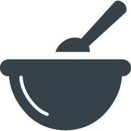 ボウルでの調理のアイコン素材 商用可の無料 フリー のアイコン素材をダウンロードできるサイト Icon Rainbow