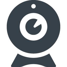 チャット用のwebカメラのイラストアイコン素材 6 商用可の無料 フリー のアイコン素材をダウンロードできるサイト Icon Rainbow
