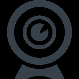 チャット用のwebカメラのアイコン素材 7 商用可の無料 フリー のアイコン素材をダウンロードできるサイト Icon Rainbow