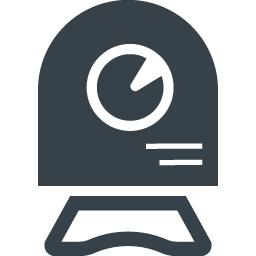 チャット用のwebカメラのイラストアイコン素材 8 商用可の無料 フリー のアイコン素材をダウンロードできるサイト Icon Rainbow