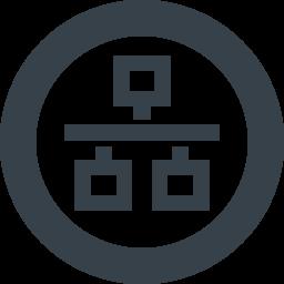 Lanのネットワーク接続のアイコン素材 6 商用可の無料 フリー のアイコン素材をダウンロードできるサイト Icon Rainbow