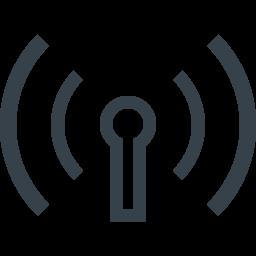 Wifi 無線lanのフリーアイコン素材 9 商用可の無料 フリー のアイコン素材をダウンロードできるサイト Icon Rainbow