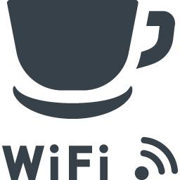 カフェの無線lan Wi Fi のアイコン素材 商用可の無料 フリー のアイコン素材をダウンロードできるサイト Icon Rainbow