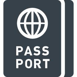 海外旅行のパスポートのイラストアイコン素材 1 商用可の無料 フリー のアイコン素材をダウンロードできるサイト Icon Rainbow