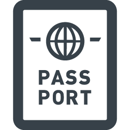 海外旅行のパスポートのフリーアイコン素材 2 商用可の無料 フリー のアイコン素材をダウンロードできるサイト Icon Rainbow