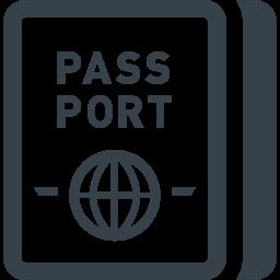 海外旅行のパスポートのフリーアイコン素材 3 商用可の無料 フリー のアイコン素材をダウンロードできるサイト Icon Rainbow