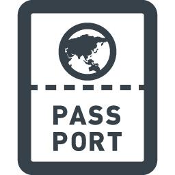 海外旅行のパスポートのフリーアイコン素材 4 商用可の無料 フリー のアイコン素材をダウンロードできるサイト Icon Rainbow