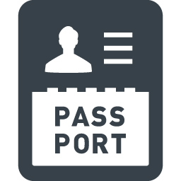 海外旅行のパスポートのフリーアイコン素材 7 商用可の無料 フリー のアイコン素材をダウンロードできるサイト Icon Rainbow