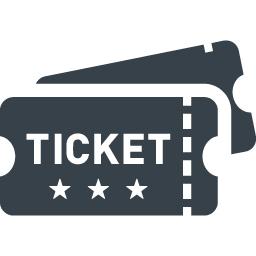チケット 招待券のアイコン素材 2 商用可の無料 フリー のアイコン素材をダウンロードできるサイト Icon Rainbow