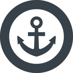 海の碇 いかり のマーク アイコン素材 10 商用可の無料 フリー のアイコン素材をダウンロードできるサイト Icon Rainbow