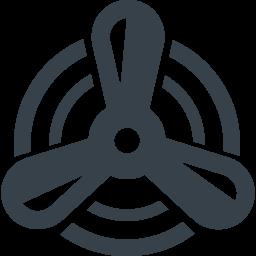 船のプロペラのイラストアイコン素材 1 商用可の無料 フリー のアイコン素材をダウンロードできるサイト Icon Rainbow
