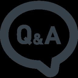 お問い合わせのアイコン Q Aの吹き出し 4 商用可の無料 フリー のアイコン素材をダウンロードできるサイト Icon Rainbow