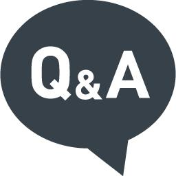 お問い合わせのアイコン Q Aの吹き出し 5 商用可の無料 フリー のアイコン素材をダウンロードできるサイト Icon Rainbow