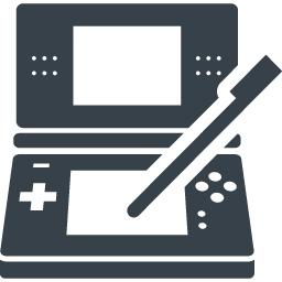 Dsっぽいゲーム機のイラストアイコン素材 3 商用可の無料 フリー のアイコン素材をダウンロードできるサイト Icon Rainbow