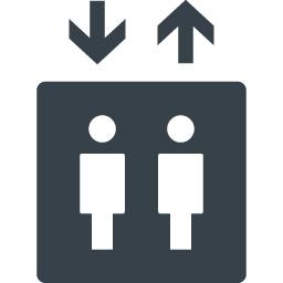 設備 エレベーターの無料アイコン素材 2 商用可の無料 フリー のアイコン素材をダウンロードできるサイト Icon Rainbow