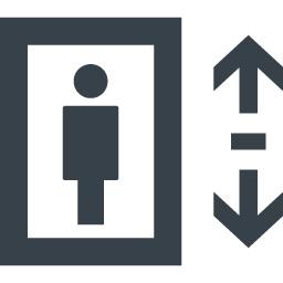 設備 エレベーターの無料アイコン素材 5 商用可の無料 フリー のアイコン素材をダウンロードできるサイト Icon Rainbow