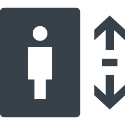設備 エレベーターの無料アイコン素材 6 商用可の無料 フリー のアイコン素材をダウンロードできるサイト Icon Rainbow