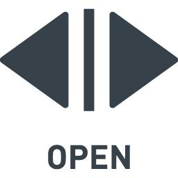 エレベーターの開くボタンのアイコン素材 1 商用可の無料 フリー のアイコン素材をダウンロードできるサイト Icon Rainbow