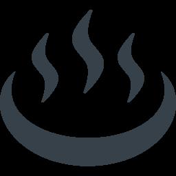 温泉マークの無料アイコン素材 1 商用可の無料 フリー のアイコン素材をダウンロードできるサイト Icon Rainbow