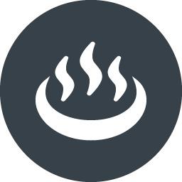 温泉マークの無料アイコン素材 3 商用可の無料 フリー のアイコン素材をダウンロードできるサイト Icon Rainbow